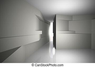 intérieur, futuriste