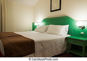 intérieur, hôtel, salle moderne