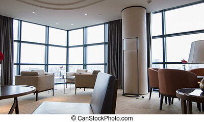 intérieur, hôtel, salle réunion, gentil
