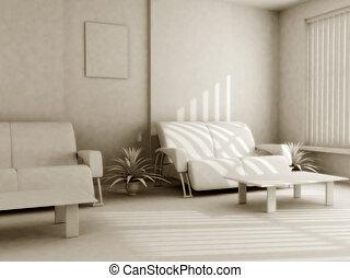 intérieur, lumière, tonalités