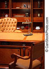 intérieur, luxe, bureau