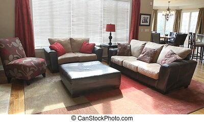 intérieur, maison, montage, luxe