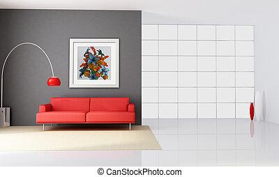 intérieur, minimaliste