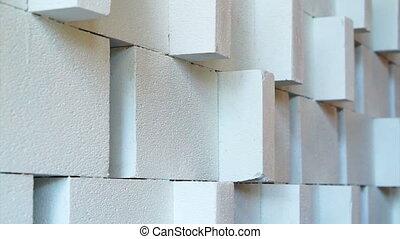 intérieur, mur, base, soulagement, decoratio