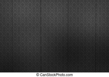 intérieur, noir, toile de fond