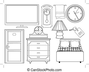 intérieur, objets