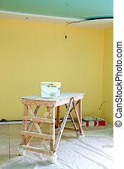 intérieur, rénovation du logement