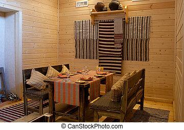 intérieur, restaurant