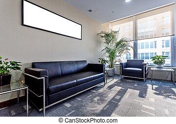 intérieur, salle d'attente