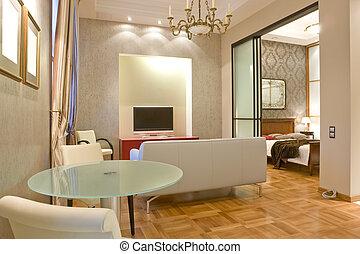 intérieur, salle de séjour