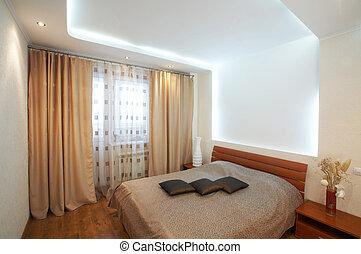 intérieur, salle, dormir