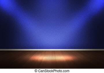 intérieur, salle, toile de fond