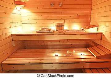 Int rieur sauna int rieur finlandais sauna images de for Sauna interieur