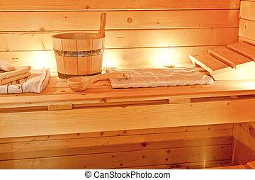 int rieur accessoires sauna wellness sauna photo de. Black Bedroom Furniture Sets. Home Design Ideas