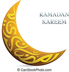 int, kareem, ramadan, grüße, geformt