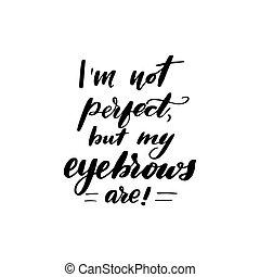 inte, perfekt