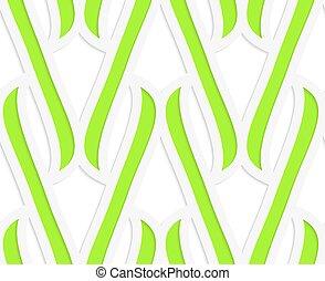 integrals, carta, verde, ritagliare