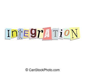 Integration Paper Letters