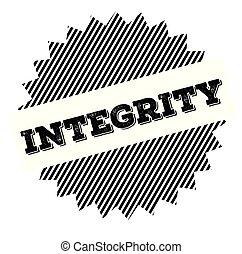 integridade, pretas, selo