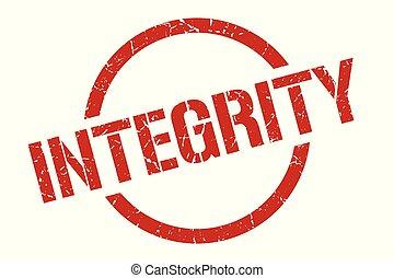 integridade, selo