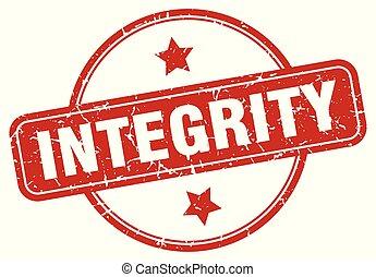 integrità, segno