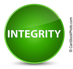 Integrity elegant green round button