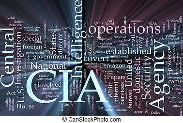 inteligencia, cia, agencia, central, encendido