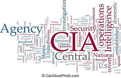 inteligencia, cia, agencia, central