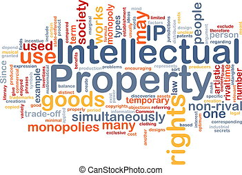Intellectual property background concept - Background ...