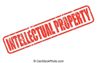 INTELLECTUAL PROPERTY red stamp text