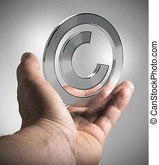 intellectuel, droit d'auteur, propriété