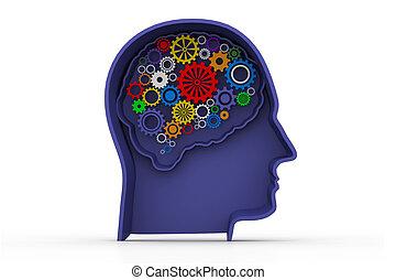 Intelligence concept