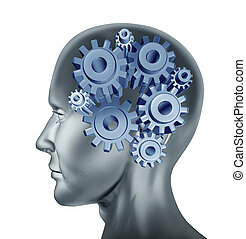 Intelligence - intelligence and brain function symbol...
