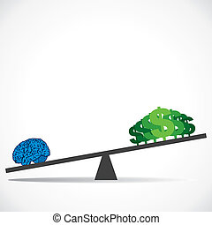intelligence value concept - intelligence is more value than...