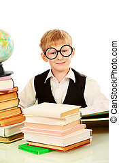 intelligent boy