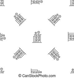 Intelligent building pattern seamless