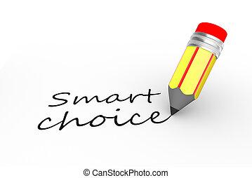 intelligent, choix