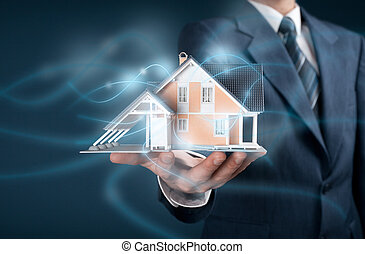 Intelligent house - Real estate agent offer intelligent...