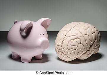 Intelligent investing - Piggy bank and human brain