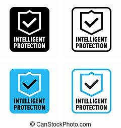 """""""intelligent, système, protection"""", sécurité"""