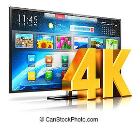 intelligent, tv, ultra, hd, 4k