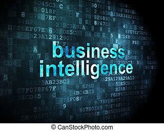 intelligenz, concept:, hintergrund, geschaeftswelt, digital