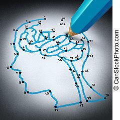 intelligenz, therapie