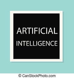 intelligenza, concetto, artificiale