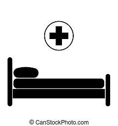 intensif, réanimation, lit, soin, hôpital, equipments, monde médical