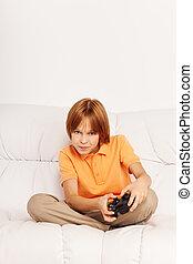intensiv, spiel, video