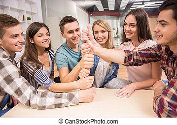interacción, grupo