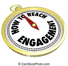 interacción, oro, compromiso, alcance, cómo, participación, ...