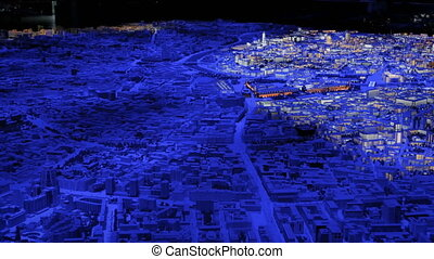 Interactive 3D city model of Moscow