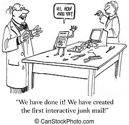 "Interactive mailer is the first in the world. - ""We have..."